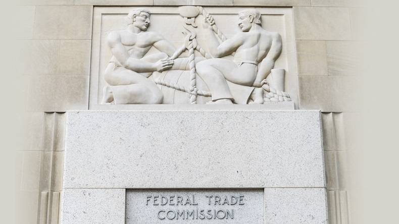 WASHINGTON, DC - SEPTEMBER 28, 2013: Federal Trade Commission Building in Washington, DC.