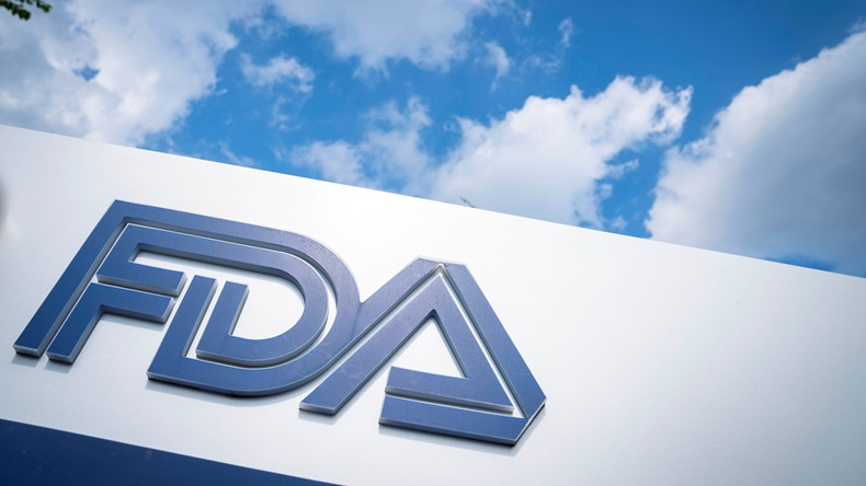 WHITE OAK, MD - JULY 20: A sign for the Food And Drug Administration is seen outside of the headquarters on July 20, 2020 in White Oak, Maryland. (Photo by Sarah Silbiger/Getty Images)