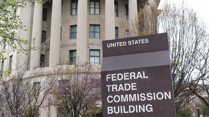 United States Federal Trade Commission building in Washington, DC