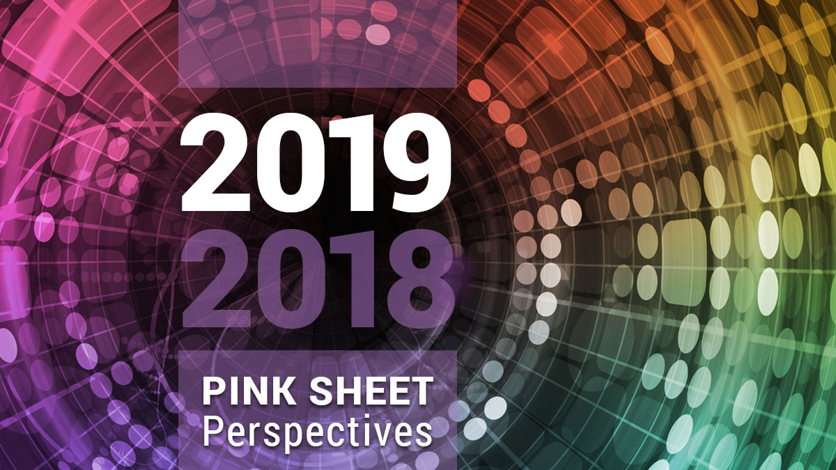 Pink Sheet prespectives 2018 to  2019