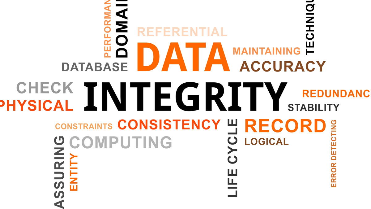 data integrity Data integrity is the maintenance of, and the assurance of the accuracy and consistency of, data over its entire life-cycle, and is a critical aspect to the design, implementation and usage of any system which stores, processes, or retrieves data.