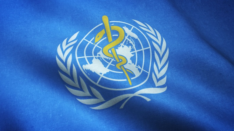 Flag of World Health Organization