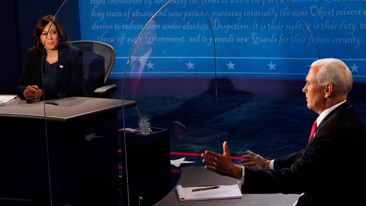 VP Debate: Pence Tries Vaccine Hesitancy Jujutsu On Harris