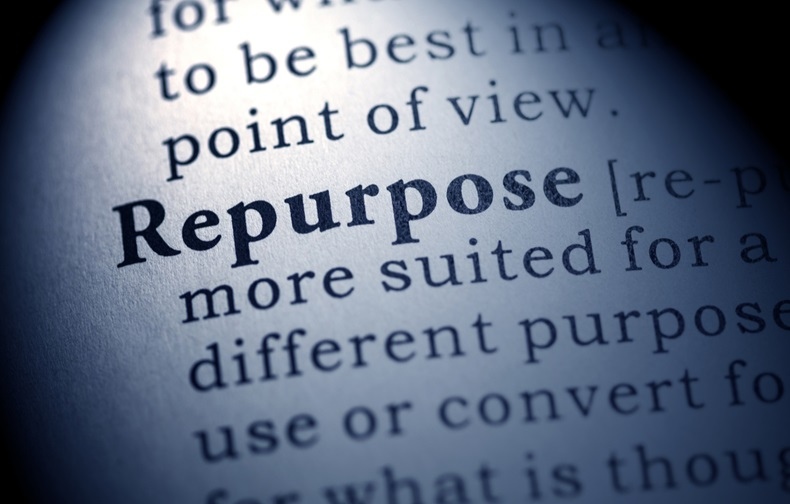 Fake Dictionary, Dictionary definition of the word repurpose.