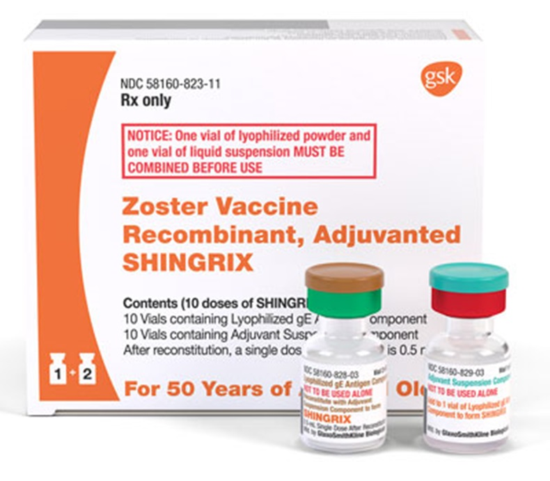 Shingrix Zoster Vaccine