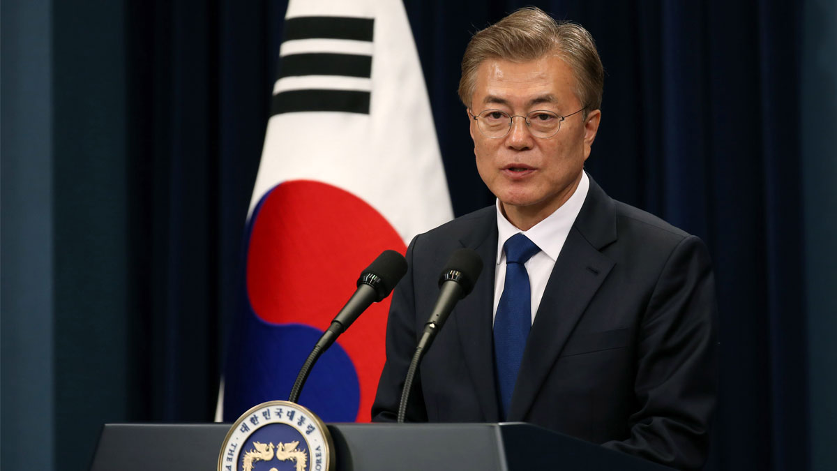 Moon Jae-in, president of South Korea